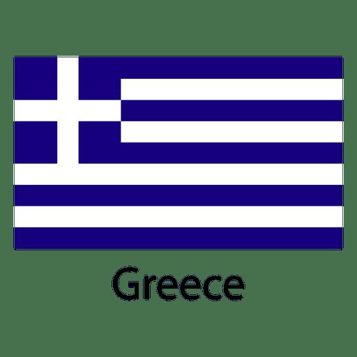Bandeira nacional grega