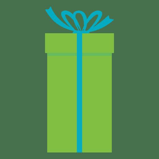 Caixa de presente verde azul arco ícone 20 Transparent PNG