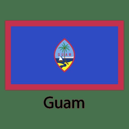 Guam national flag