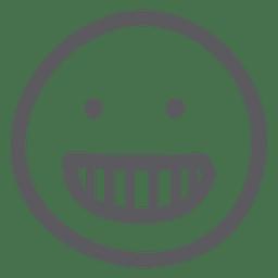 Happy doodles emoji emoticon