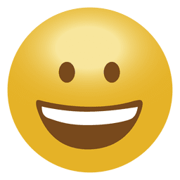 Emoji feliz emoticon