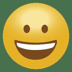 Glückliches Emoji Emoticon