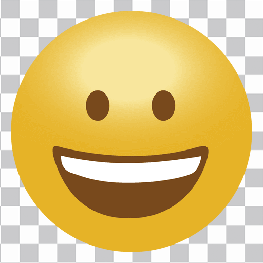 Happy emoji emoticon - Transparent PNG & SVG vector