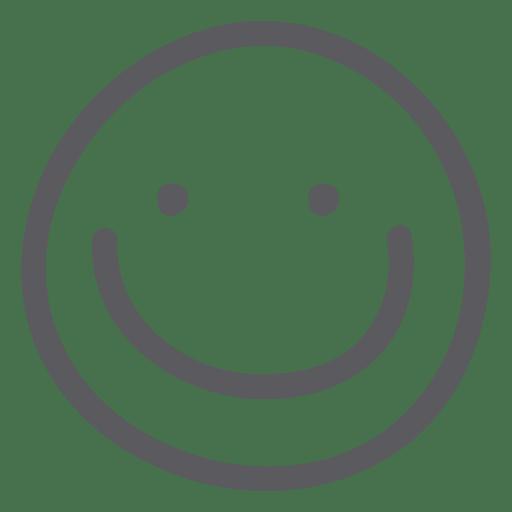 Emoji de emoticonos felices Transparent PNG