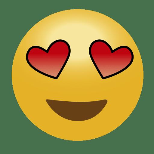 Emoticon de amor emoji