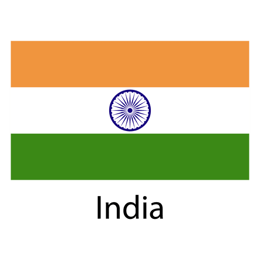 Bandeira nacional da Índia Transparent PNG