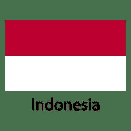 Bandera nacional de indonesia