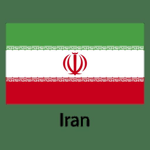 Iran national flag