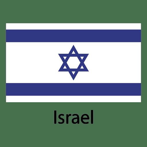 Bandera nacional de israel Transparent PNG
