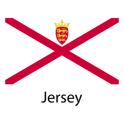 Jersey national flag
