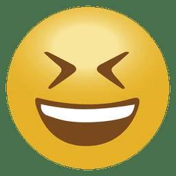 Emoticon de emoji de broma