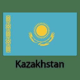 Bandera nacional de Kazajstán