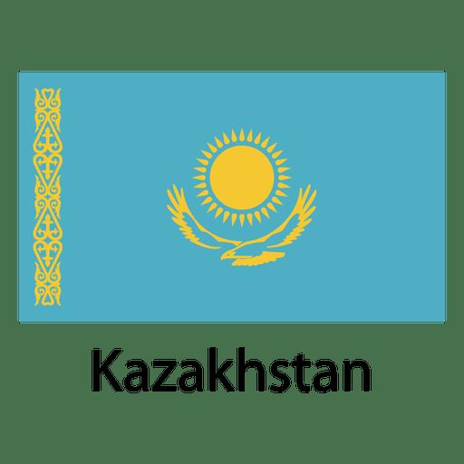 Kazakhstan national flag - Transparent PNG & SVG vector file