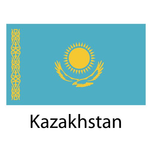 Kazakhstan national flag