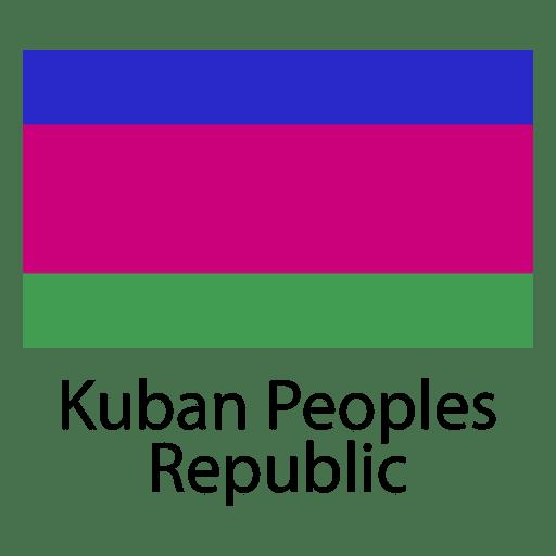 Bandera nacional de la rep?blica popular de Kuban