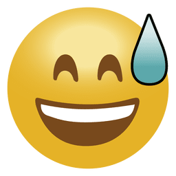 Emoticon de emoji de risa