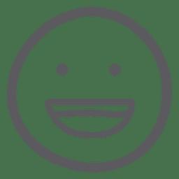 Lachen Sie Emoji-Emoticon