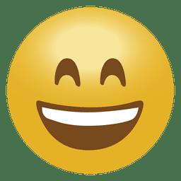 Sorte de emoticon de riso emoji