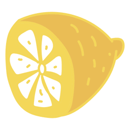 Comida de fruta de limon
