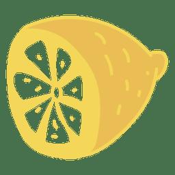 Comida de frutas de limão