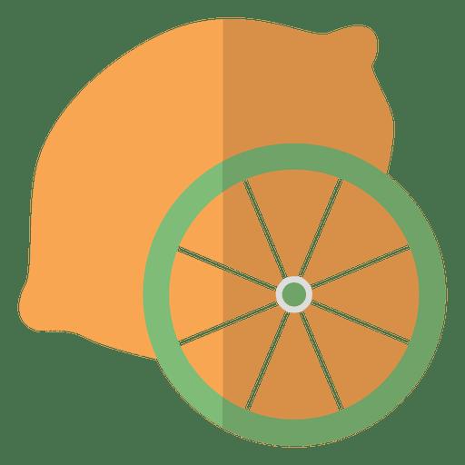 Icono de fruta naranja Transparent PNG