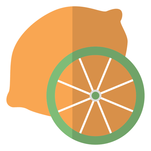 Orange fruit icon Transparent PNG