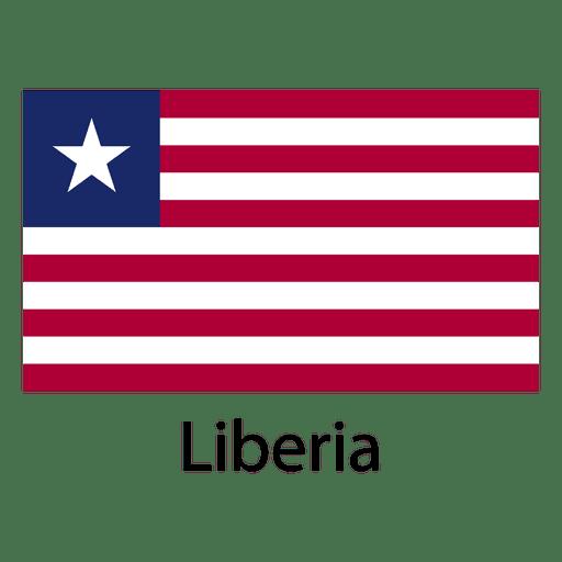 Bandera nacional de liberia