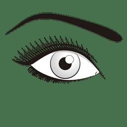 Auge machen
