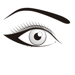 Make up eye illustration
