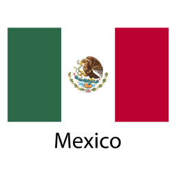 Mexiko Nationalflagge