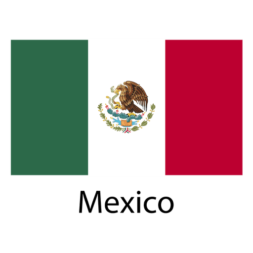 Mexico national flag Transparent PNG
