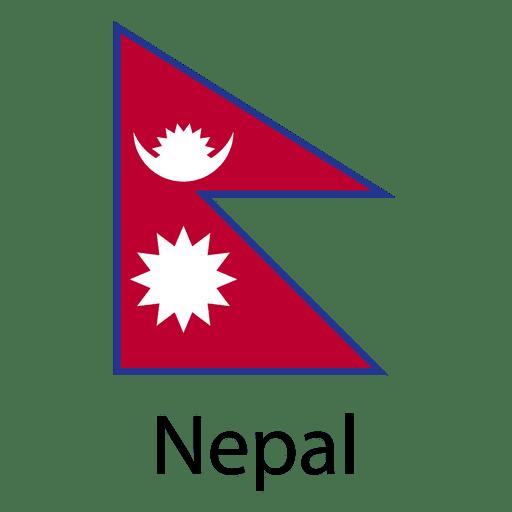 Nepal national flag