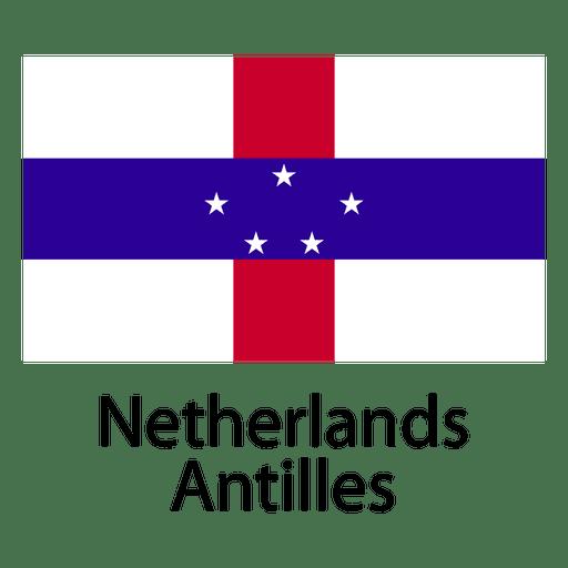 Netherlands antilles national flag Transparent PNG