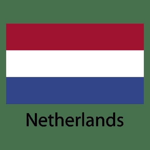 Bandera nacional holandesa