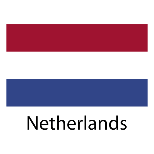 Netherlands national flag Transparent PNG
