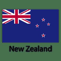 Bandera nacional de nueva zelanda