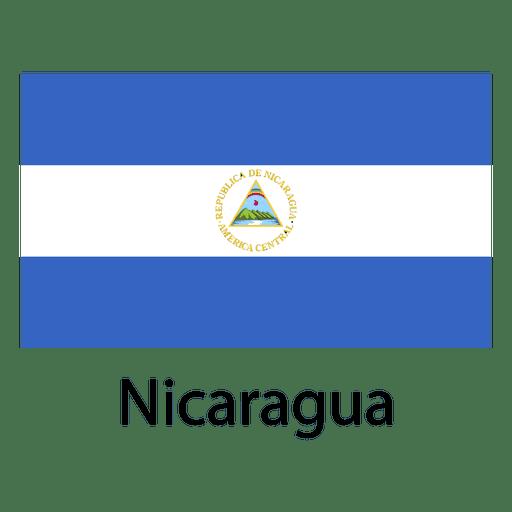 Nicaragua national flag
