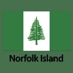 Bandeira nacional da ilha de Norfolk