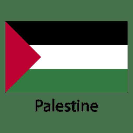 Palästina Nationalflagge