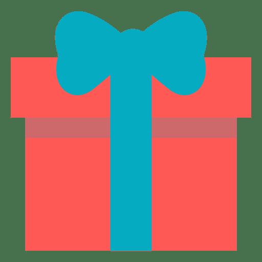 Caixa de presente rosa azul arco ícone 16 Transparent PNG