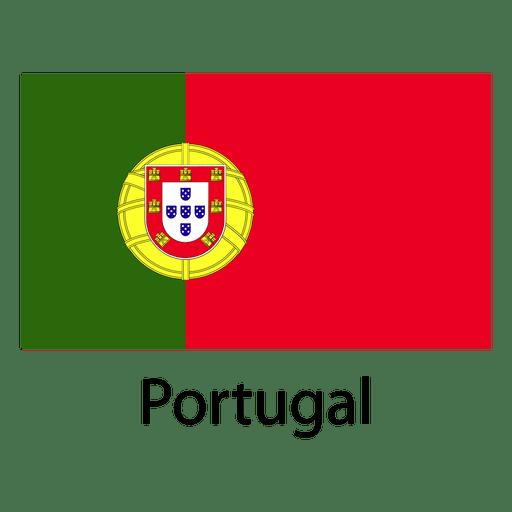 Bandera nacional de portugal Transparent PNG