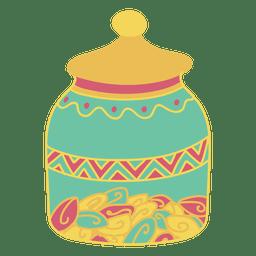 Pot Lagerung Lebensmittel
