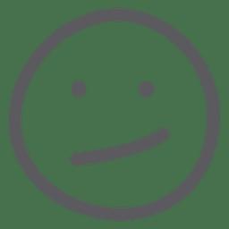 Sad doodle emoji emoticon