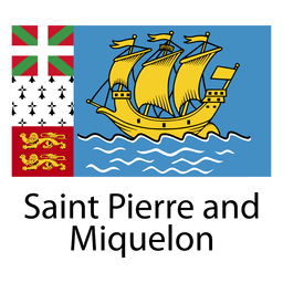Bandera nacional san pierre y miquelon