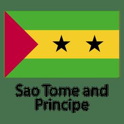 Bandeira nacional de São Tomé e Príncipe