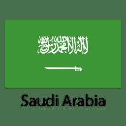 Saudi-Arabien Nationalflagge