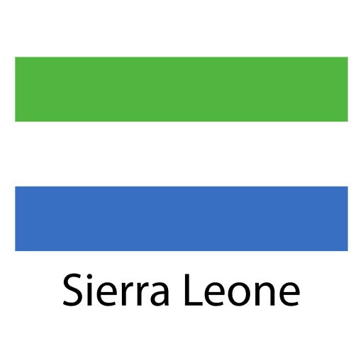 Bandera nacional sierra leona