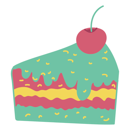 Pastel de rebanada de pastel Transparent PNG