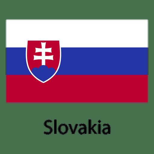 Bandera nacional de eslovaquia
