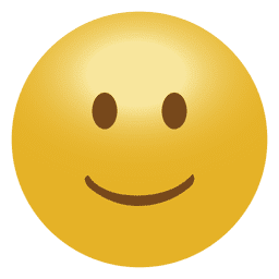 3D smile emoticon emoji